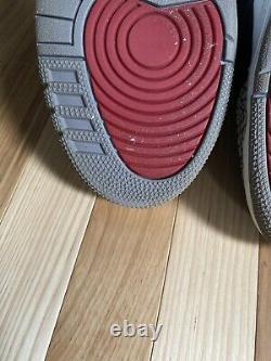 Air Jordan 3 III Retro Taille Sz 10 2011 Noir/varsity Rouge-ciment Gris
