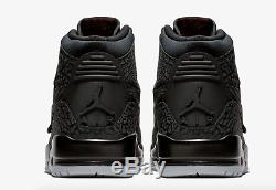 Air Jordan Legacy 312 Noir / Rouge Varsity / Noir Stock Limité Pour Toutes Les Tailles