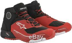 Alpinestars 2020 Cr-x Drystar Riding Chaussures Noir / Rouge Toutes Les Tailles