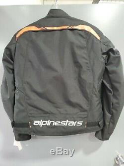 Alpinestars 2020 T-sps Imperméable Veste Moto Noir / Rouge Lg