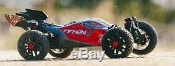 Arrma 2018 1/8 Typhon 3s Blx Brushless 4rm Rtr Rouge / Noir-out Of Stock