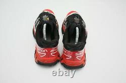 Authentique Salomon Xt-6 S/lab Soft Ground Black Red Sneakers Us11