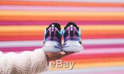 Baskets D'entraîneur De Chaussure Nike Air Max 720 Pride Rainbow, Noir, Rouge - Royaume-uni 6-12