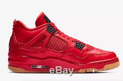 Baskets Femmes Nike Air Jordan 4 Retro Fire Rouge / Noir / Summit W Limitées