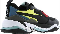 Baskets Hommes Puma Thunder Spectra Noir-rouge-vert Toutes Les Tailles Stock Limité