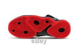 Baskets Jordan Super Fly Mvp Hommes Noir-rouge Stock Limité Toutes Tailles