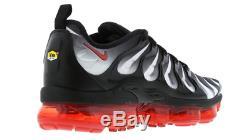 Baskets Nike Air Vapormax Plus, Noir Et Rouge, Limitées Et Rares Actions Aq8632-001 Yogi