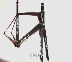 Bh G6 Aero Road Cadre Bike XL / 58cm Cadre Noir / Rouge / Gris Ensemble Ancien Nouveau Stock