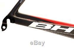 Bh G6 Aero Road Cadre Bike XL / 58cm Ensemble Cadre Noir / Rouge Ancien Nouveau Stock
