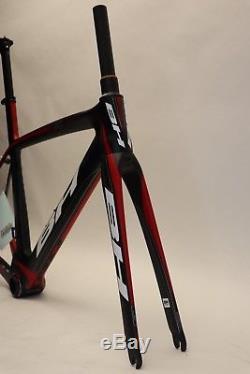 Bh G6 Carbone Aero Cadres Xs / 52cm Blk / Rouge Nouveau Vieux Stock 2014