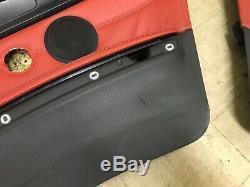 Bmw Oem E92 E93 328 335 M3 Avant Et Arrière Ensemble Panneau De Porte Panneaux Coupe Rouge 07-13