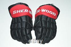 Bobby Ryan Sher-wood 14 Ek9 Ek9 Gants Pro-new Stock Ottawa Senators Black Red