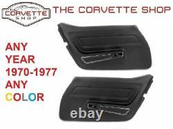 C3 Corvette Standard Door Panel Paire 1970-1977 N'importe Quelle Couleur