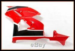 Carénages Complets Gloss Rouge Noir Pour Honda Cbr600rr F5 2013 2017 Nouveau En Stock