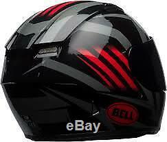 Casque Intégral Qualificateur Bell Noir / Rouge Taille (s) 7092773 En Stock Expédition Aujourd'hui
