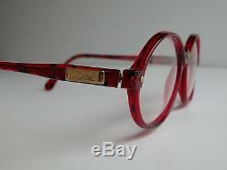 Cazal Vintage Sunglasses New Old Stock - Modèle 328 Col 689 Rouge & Noir