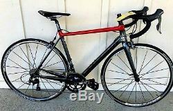 Cervelo R5 Ultegra 6800 54 CM Noir / Rouge Nouveau Vieux Stock Vélo De Route Pdsf 5500,00 $