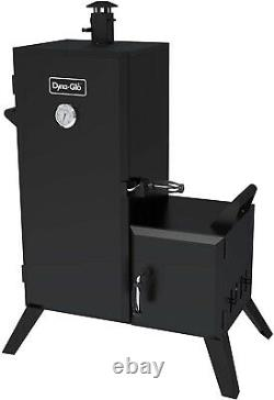 Charbon De Bois Smoker Grill 1,176 Sq In Vertical Offset Backyard Bbq Cooking Dyna-glo