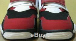 Chaussures De Gazon Nike Air Diamant 2011 Deion Sanders Noir Jordan Rouge Blanc 1 4 Hommes 10