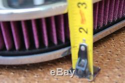 Chevy Impala Ss Vintage Épurateur D'air Ovale De 12 Po De Chevrolet Peint En Noir Et Rouge