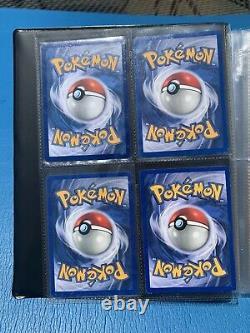 Collection Vintage Pokemon Card Binder 1999-2021