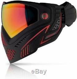 Colorant I5 2.0 Masque Paintball Airsoft Goggle Feu (noir / Rouge) En Stock / Bateau Libre