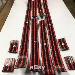 Convient 88-98 Cheverolet Gmc Sc Sb Sport Ss Black Red Line Prédécoupés Corps Moulure