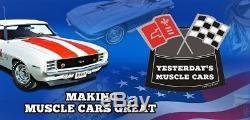Couvertures De Valve Stock En Acier Chevrolet Sbc Black Logo Red + Purificateur D'air Lavable Rouge