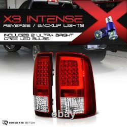 Cree Led Reverse Pour 09-18 Dodge Ram 1500 2500 3500 Neon Tube Tail Light Set