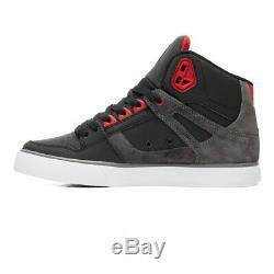 DC Pur Élevé Des Hommes Top Wc Se Noir Salut Top Skate Chaussures Baskets Bottes Taille 8-15