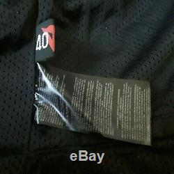 Dainese Cadre Air D1 Tex Jacket Suade Noir Modèle Rouge 2735146- Taille 40 Legendar