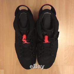Deadman Jordan 6 Retro Infrared Noir 2014 Bred Us 8,5 Eur 42 Nike Air J´s Og