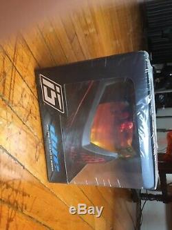 Dye I5 Paintball Airsoft Goggle Masque Feu (noir / Rouge) En Stock / Bateau Libre