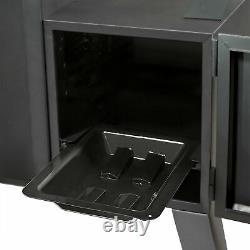 Dyna-glo Dgo1176bdc-d Porte Double Porte Vertical Charcoal Offset Noir