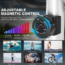 Elliptical Machine Trainer+app Us Stock Multi-function Digital Monitor Silencieux