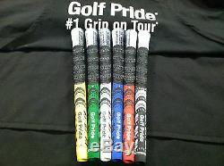 Ensemble De 13 Golf Pride Multicompound Nouvelles Poignées De La Décennie Choisir La Couleur. Multi Composé