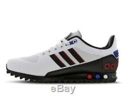 Entraîneurs Adidas La Trainer II Blanc Noir Rouge Pour Homme Stock Limite Toutes Les Tailles