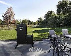 Fumeur De Charbon Vertical Bbq Grill Extérieur Jardin Cuiseur De Viande 1 176 Sq