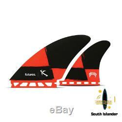 Futur Lost Seaworthy Quad Noir Rouge-fcs2-fcs-future-stock Liquidation-vente