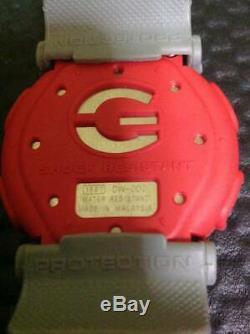 G-shock Casionexax Dw-003b-2 Stock Mort Article Inutilisé 1997 Noir Rouge