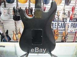 Guitare Électrique Black Black Vintage Black's Red Vintage Stock 1980