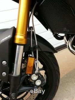 Harley Davidson Hd Vrsca Kit De Canalisation De Frein Avant Pour 3 Lignes 2003-2005 Spiegler