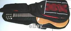Hohner Ac06 Cordes En Nylon Pleine Guitare Acoustique Nouveau Mbt Noir Rouge Garniture De Cas