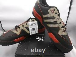 Hommes Adidas Sz 11 Star Wars Rivalry Low Black & Red Limited Edition Shoes Fv8036
