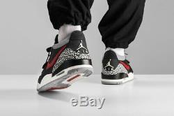 Hommes Nike Air Jordan 312 Legs Taille Basse Uk 7 Eur 41 (cd7069 006) Noir / Rouge / Gris
