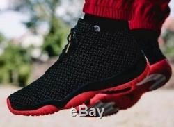Hommes Nike Air Jordan Future Premium, 3m ' Taille 13 Eur 48,5 (652141 023) Noir / Rouge