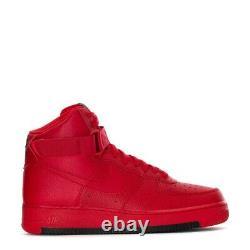 Hommes Nike Force Aérienne 1 High'07 1 Taille De Chaussure 8 Université Triple Rouge Ao2440-600