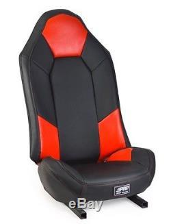 Housses De Siège Prp Polaris Rzr Stock 2 Paires Noir Rouge Rzr 900 1000 Xp S Turbo 2014+