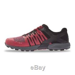 Inov8 Roclite 315 Hommes Standard Fit Trail Running Chaussures Noir / Rouge