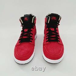 Jordan 1 High Zoom Air Cmft Ct0978 600 Gym Red Suede Taille De Race 14 Nib
